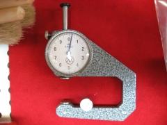 Reloj medidor espesores.