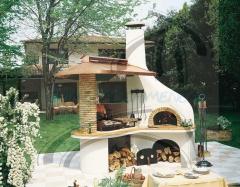 Chimecal chimeneas: barbacoa y horno que nos har� disfrutar de la buena cocina.