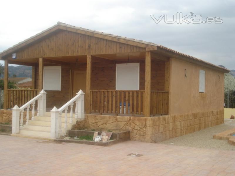 Casas de madera maderc s - Casas de madera en granada ...