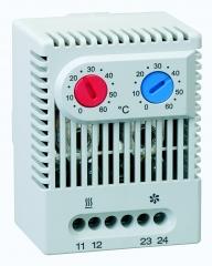 El doble termostato zr 011 , con un contacto abridor, normalmente cerrado, para regular resistencias calefactoras e ...