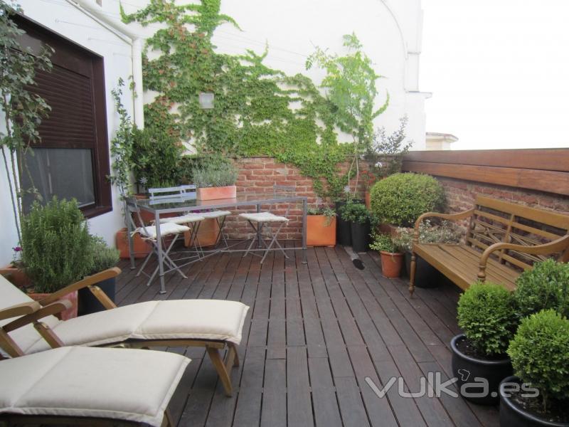 Azarbe jardines for Paisajismo de terrazas