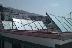 Hotel de 100 plazas, cobertura solar de un 70 %