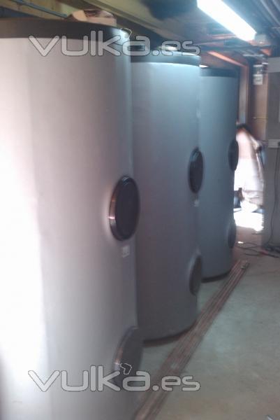 Depositos acumuladores solares