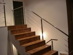 Cables acero inoxidable para escaleras