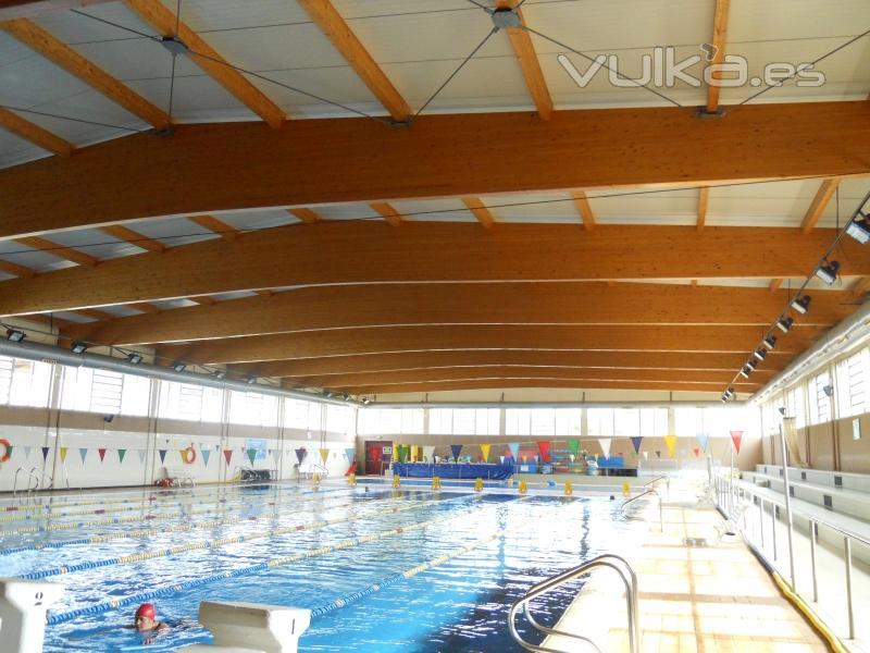 Tecnifusta - Estructura de madera para piscina ...