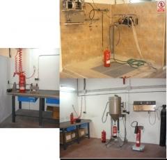Extintors: manteniment - recarrega - retimbrat