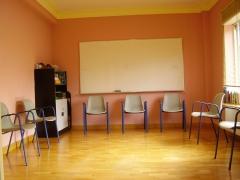 Sala para talleres y cursos.