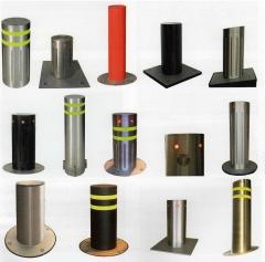 Algunos de los modelos de bolardos o pilonas. trabajamos la más alta calidad de productos. productos europeos, ...