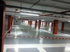 Pavimento parking garajes