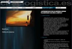Diseño web de empresa de transporte y logística ciraclogistica.es
