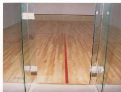 Squash. parquet deportivo tarima maciza arce americano