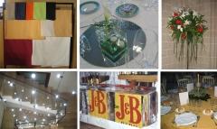 Decoracion eventos, catering, cenas de empresa, cenas de gala, flores eventos