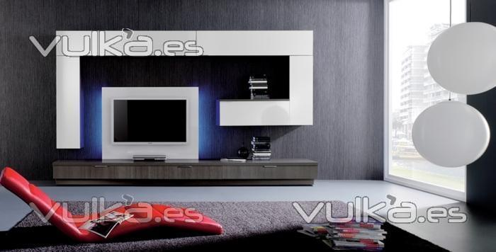 Foto mueble de comedor moderno modular for Modular comedor moderno