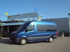 VW Crafter, veh�culo para los desplazamientos al aeropuerto