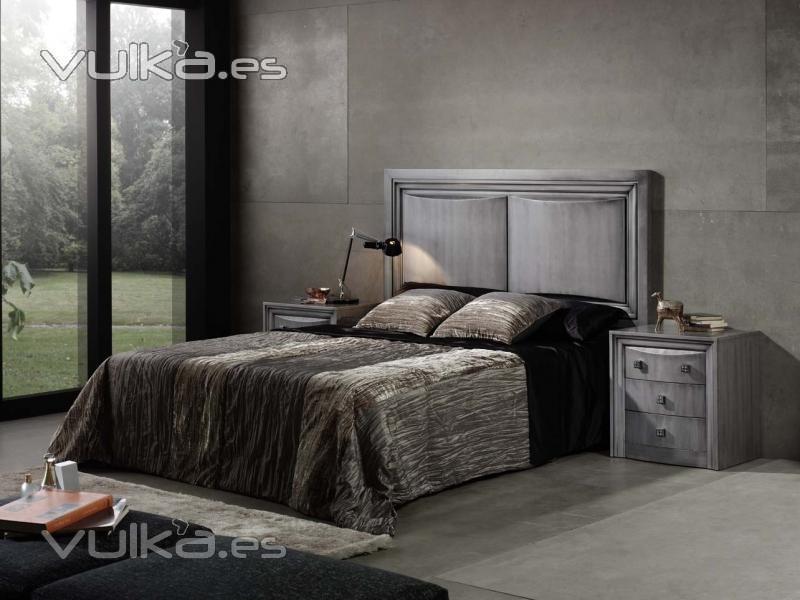 Cosman fabrica de muebles s l - Dormitorios modernos en blanco y plata ...