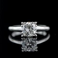 Solitario en diamante talla brillante en diferentes pesos