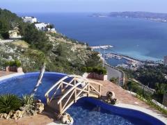 Construccion piscina verano lujo en altea