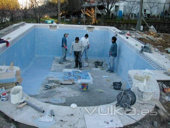 Suministros gilmat sl for Piscina construccion