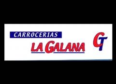 Carrocerias la galana logotipo vitoria-gasteiz. taller de chapa y pintura. reparacion de automocion
