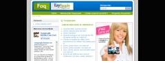 Pagina creada para preguntas frecuentes  www.turypeople.net