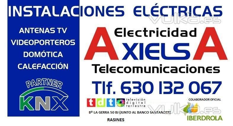 AXIELSA INSTALACIONES ELECTRICAS