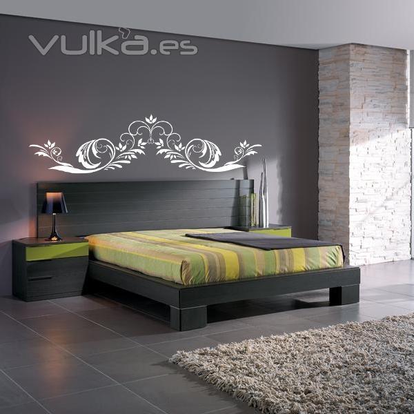 Foto vinilos para cabeceros de camas en - Vinilos para cabeceros ...