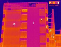 Termograf�a de edificio