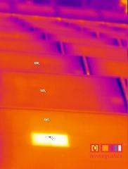 Termograf�a de instalaci�n solar fotovoltaica