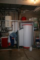 Sistema de calefacci�n solar instalado en motilla del palancar (cuenca). ahorro en consumo de gasoil a�o 2009: 63%