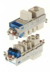 Conectores modulares industriales