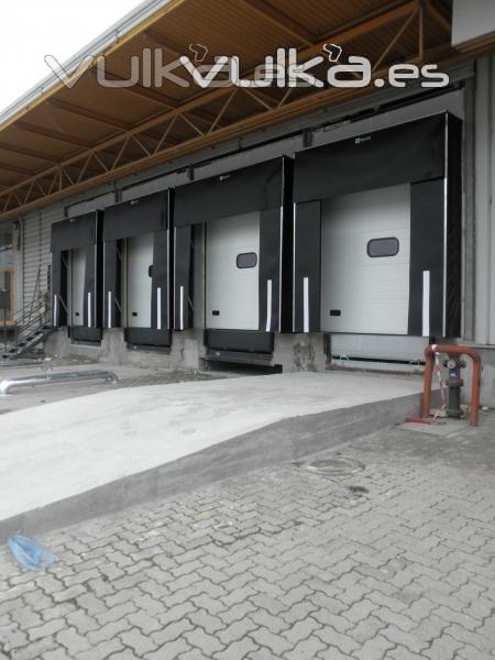 Puertas y Abrigos para muelles de carga