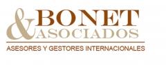 Logotipo bonet & asociados