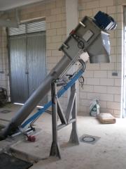 Tamiz compactador - tornillo sin fin aplicaciones tamizado de las aguas de descarga municipales e industriales con ...
