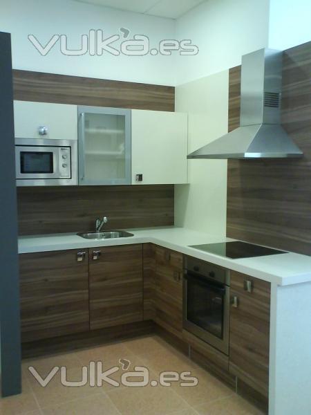 Foto cocina exposici n nolte k chen mod manhattan 492 for Muebles de cocina kuchen