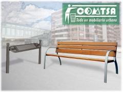 Mobiliario urbano bancos urbanos serie ciudad