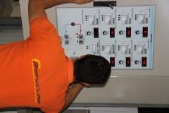 Puesta a punto de central frigor�fica multi servicio