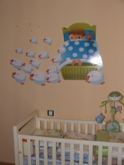Sticker infantil coleccion de sue�os y fabulas
