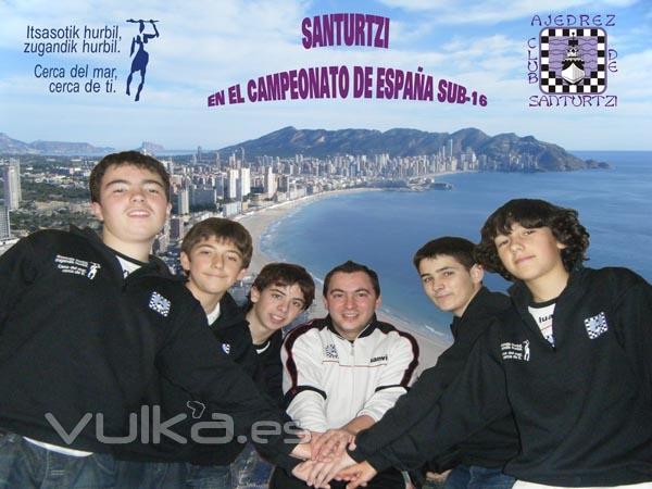 Santurtzi en el Campeonato de España Sub-16 de Benidorm