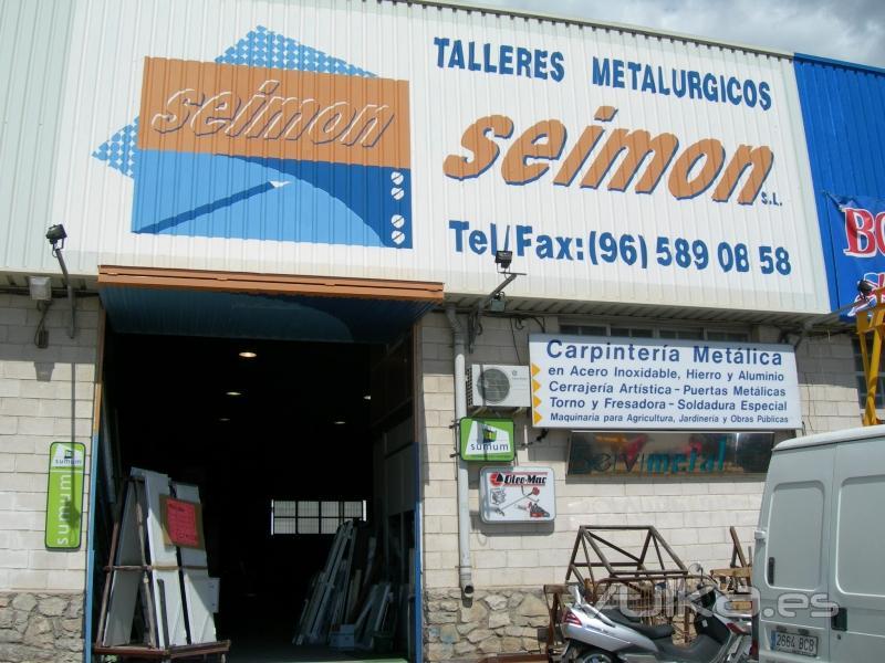 Foto fachada de talleres seimon en villajoyosa - Fachadas de talleres ...