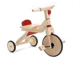 Triciclo de madera.fabricado exclusivamente de madera de haya maciza europea. las ruedas no dejan huellas ni hacen ...