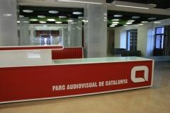 Nuestra oficina está en el parc audiovisual de catalunya