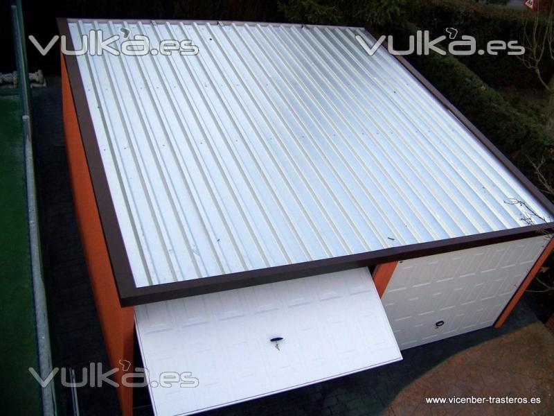 Foto garajes prefabricados met licos vicenber for Trasteros prefabricados precios