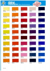 Carta de colores macal 9800