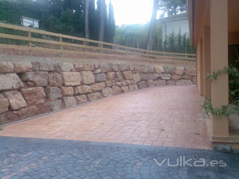 Excavaciones laborda sl for Vallas decorativas