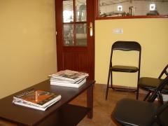 Sala de espera para que pueda entretenerse