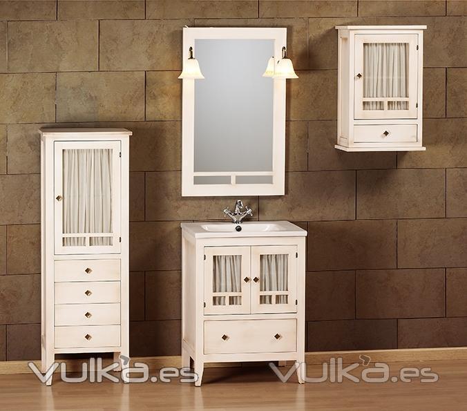 Muebles ba o blanco roto for Muebles lacados en blanco baratos