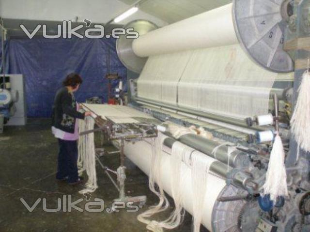 Foto telares de rizo creart osona elaborados en una - Fabricantes de sabanas en espana ...