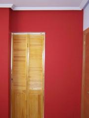 Tabique de escayola, vestidor