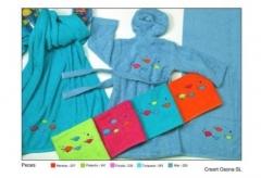 Albornoces infantiles creart osona novedades en textiles infantil especialmente para los niños, los artículos del ...