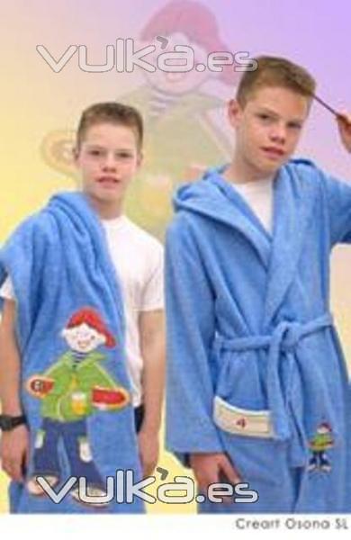 Toalla Baño Infantil:Toalla de baño infantil, Creart Osona Novedades en textiles infantil
